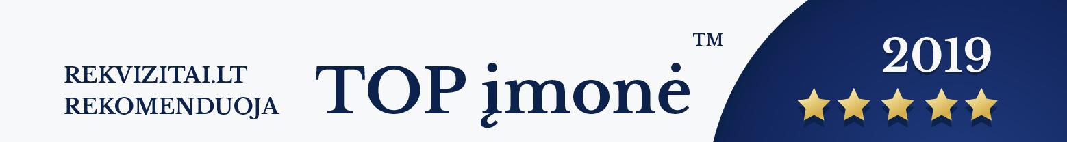 Prekeivis UAB TOP imone 2019